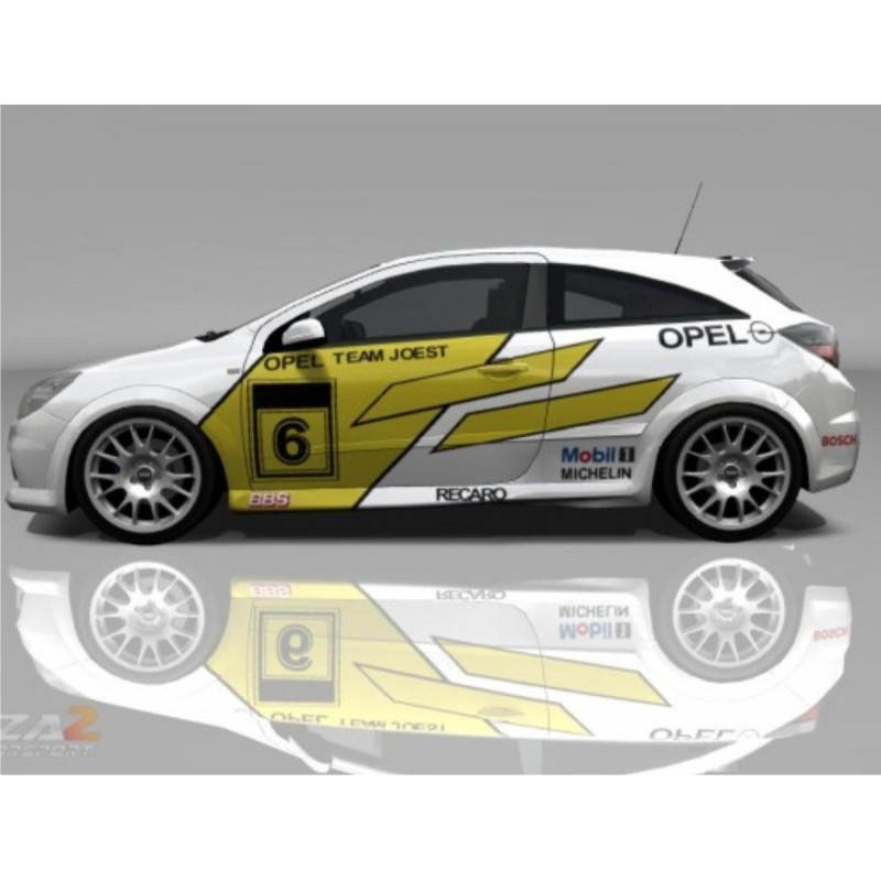 Vauxhall Opel Corsa Btcc Rally Full Graphics Kit