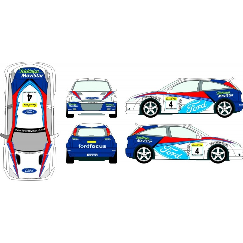 Ford focus 2002 wrc full graphics kit malvernweather Images