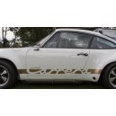 Porsche 911 carrera Side Stripe Graphics