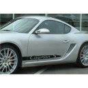 Porsche Cayman Side Stripe Graphics
