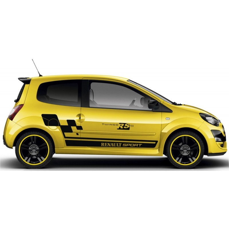 Megane 2 Kit Renault Sport Cup: Renault Twingo RS Cup Full Graphics Kit