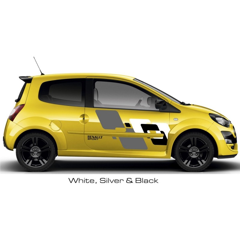 renault twingo sport graphics kit 1. Black Bedroom Furniture Sets. Home Design Ideas