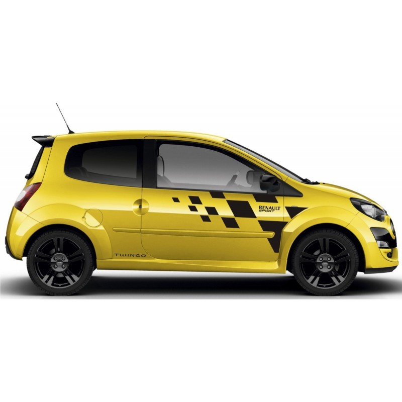 renault twingo sport graphics kit 2. Black Bedroom Furniture Sets. Home Design Ideas