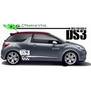 Citroen DS3 Side Graphics Full Decal Kit