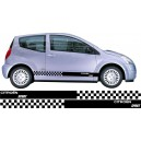 Citroen C2 Side Stripes Style 11