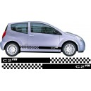 Citroen C2 Side Stripes Style 14