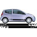Citroen C2 Side Stripes Style 15