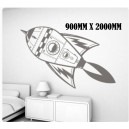 Large Spaceship Wall Art