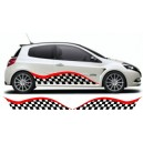 Renault Clio Custom Side Graphic 26