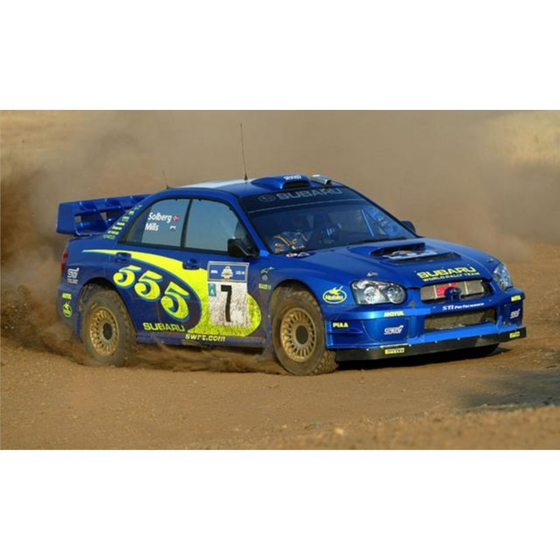 Subaru Impreza 2003 Rally Acropolis 555 Wrc Rally Graphics Kit