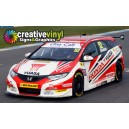 Honda Civic Tourer 2014 Graphics Kit