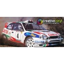 Toyota Corolla 1999 Portugal WRC Full Rally Graphics Kit
