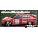 Mitsubishi Evolution VI 2000 WRC Full Rally Graphics Kit