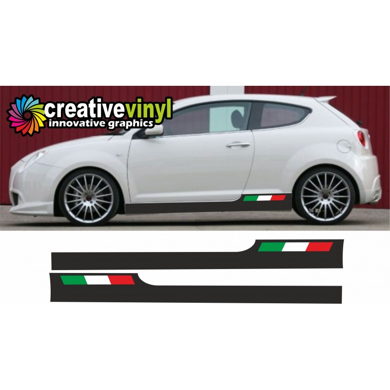 Alfa Romeo Mito Decal Sticker Graphic Style 10