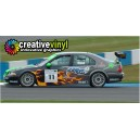MG ZS BTCC Hot Wheels Full Graphics Kit