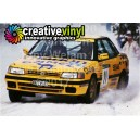Subaru Legacy 1992 Camel Sweden WRC Graphics Kit