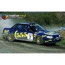 Subaru Legacy 1993 555 WRC Graphics Kit