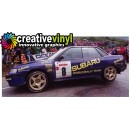 Subaru Legacy 1993 WRC Graphics Kit