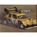 Peugeot 205 Pikes Peak 1987 Camel Full Rally Graphics Kit