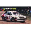 Subaru Legacy 1990 WRC Full Rally Graphics Kit