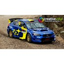 Subaru Impreza WRX Rally USA WRC Rally Graphics Kit
