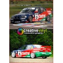 BMW 320 1997 Mclaren WTCC Full Graphics Kit.