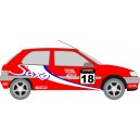 Citroen Saxo Rally Full Graphics Kit