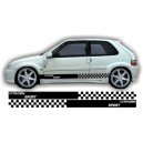 Citroen Saxo Side Stripe Style 11
