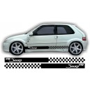 Citroen Saxo Side Stripe Style 14