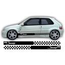 Citroen Saxo Side Stripe Style 17
