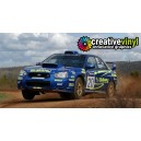 Subaru Impreza 2003 Rally France WRC Rally Graphics Kit