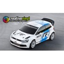 VW Polo Motorsport Full Rally Graphics Kit