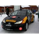 Peugeot 206 Havoline WRC Full Rally Graphics Kit