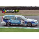 Volvo 850 1994 BTCC Rydell Full Rally Graphics Kit