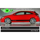 Vauxhall Astra Side Stripe Style 3