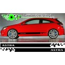 Vauxhall Astra Side Stripe Style 5