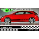 Vauxhall Astra Side Stripe Style 7