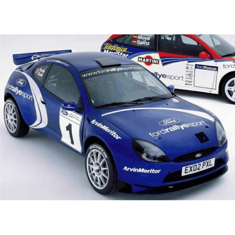 Ford Puma S1600 WRC Full Rally Graphics Kit