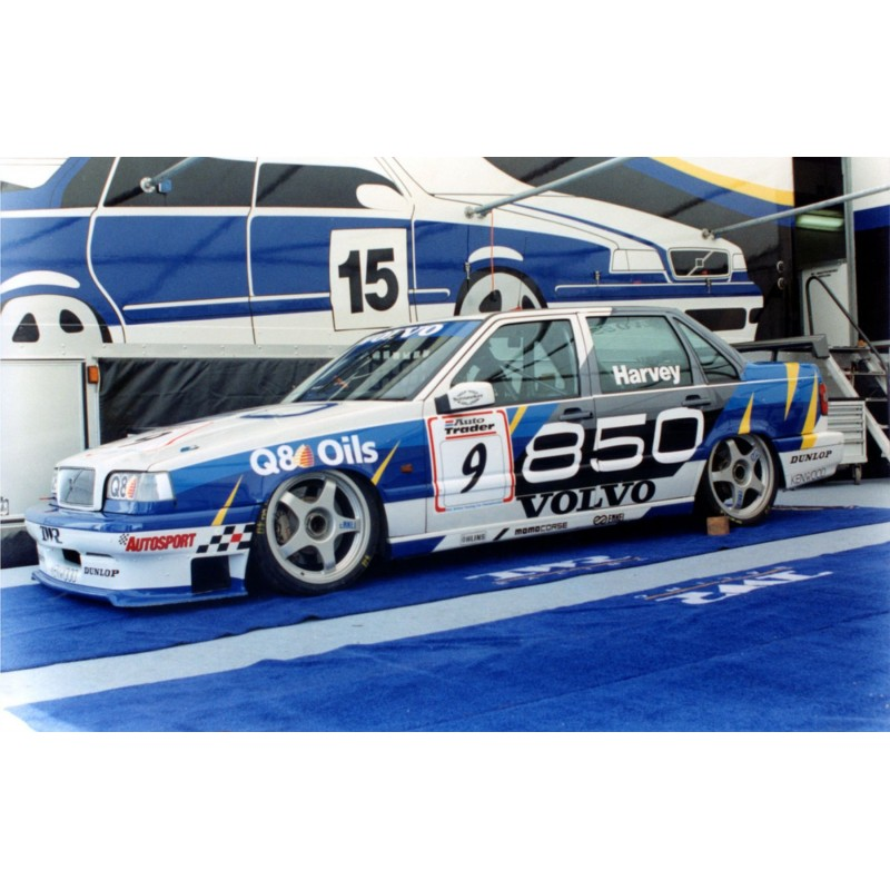 Volvo 850 1995 Btcc Rydell Full Rally Graphics Kit