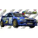 Subaru Impreza 1997 Rally Monte Carlo WRC Graphics Kit