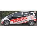 Honda Jazz WRC Full Graphics Kit