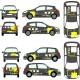 Renault Clio Sport Full Graphics Motorsport Kit