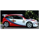 Ford Focus 1999 WRC Martini McRae Full Graphics Kit