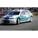 Skoda Fabia 2006 WRC Full Graphics Race Rally Kit