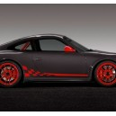 Porsche GT3 RS Check Side Stripes