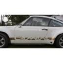 Porsche 911 carrera Side Stripe Graphics