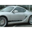 Porsche Cayman Side Stripe Graphics