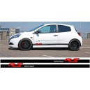 Renault Clio RS Side Stripes
