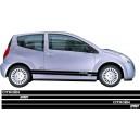 Citroen C2 Side Stripes Style 10
