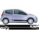 Citroen C2 Side Stripes Style 12